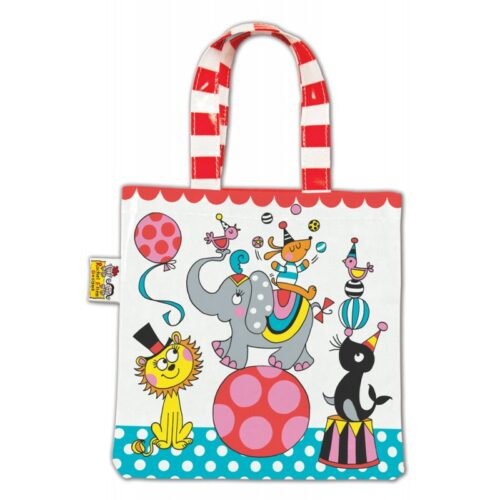 Circus Animals Mini Tote Bag