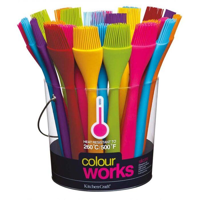 Colourworks Mini Silicone Pastry Brush
