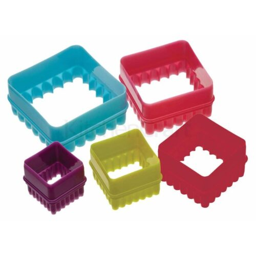 Colourworks Set of 6 Square Cookie Cutters