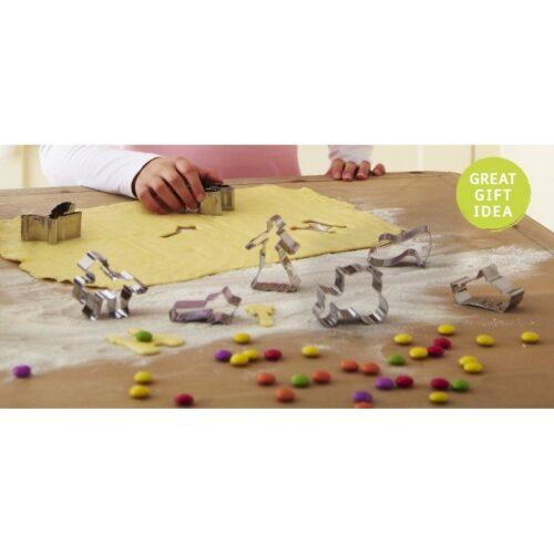 Cooksmart Kids 8-Piece Princess Cookie Cutter Set