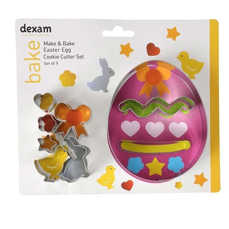 Dexam Easter Egg Cookie Cutter Set