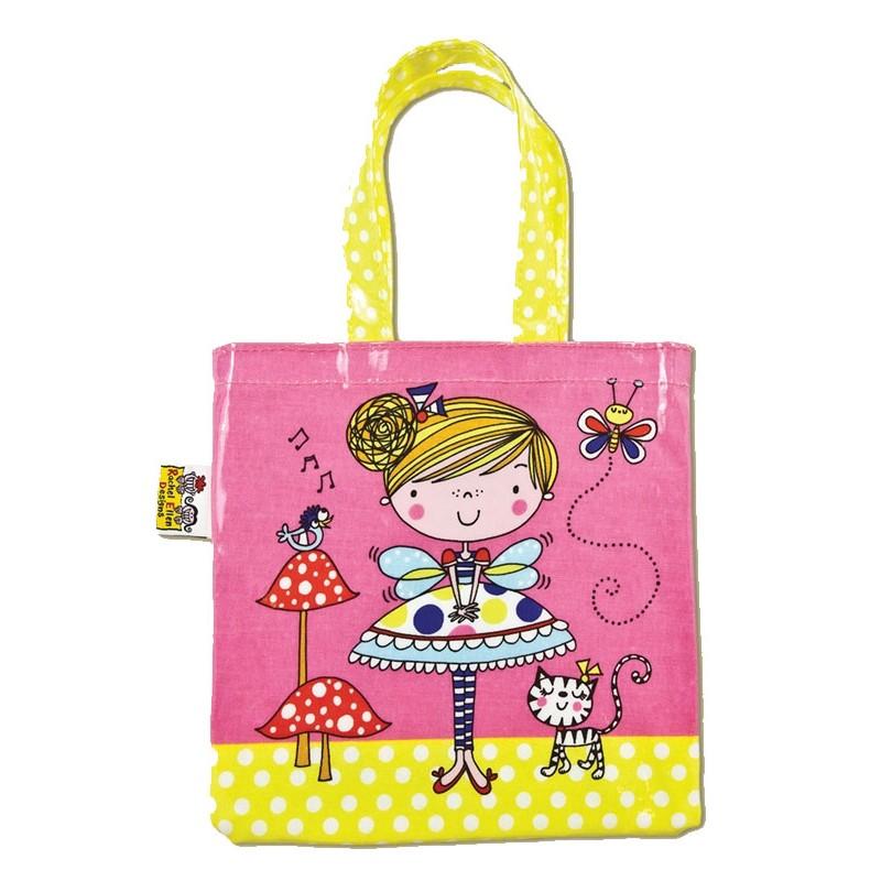 Fairy and Toadstools Mini Tote Bag
