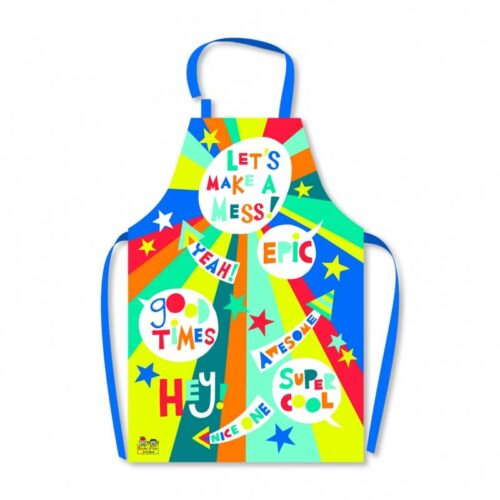 Let's Make A Mess Children's Apron