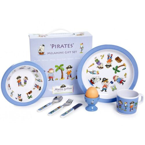 Martin Gulliver Pirates Melamine Dinner Set