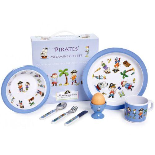 Martin Gulliver Pirates Melamine Dinner Set