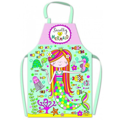 Secretly A Mermaid Children's Apron