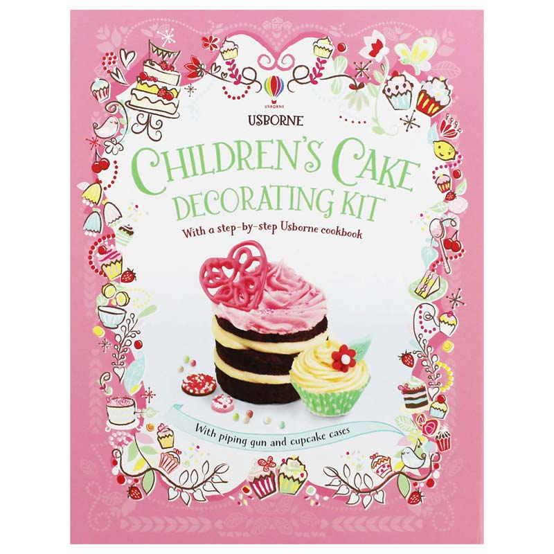 Usborne Children's Cake Decorating Kit