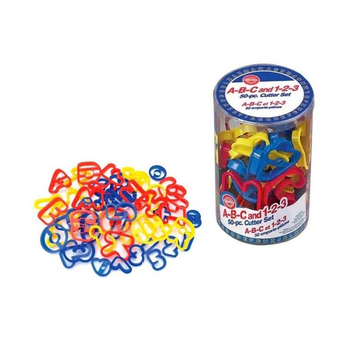 Wilton ABC and 123 Cookie Cutter Set