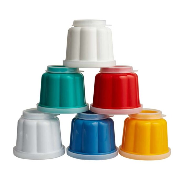 Kitchencraft Set of 6 Jelly Moulds