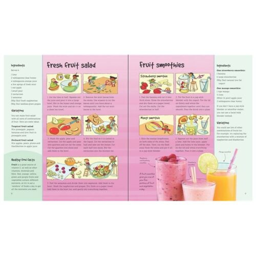 The Usborne Healthy Cookbook