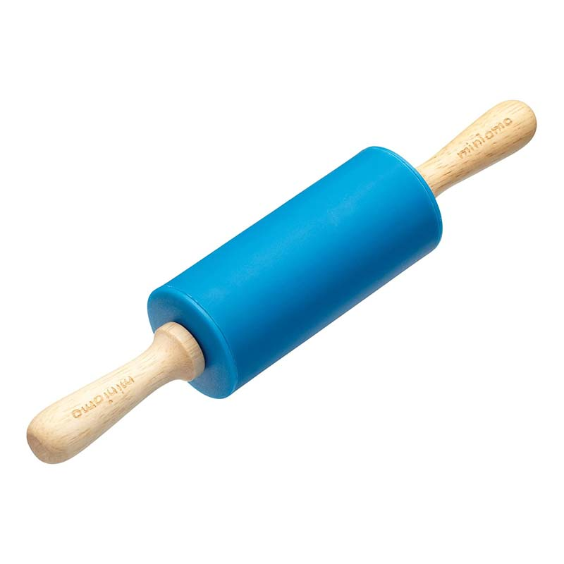 miniamo Let's Make Silicone Rolling Pin - Blue